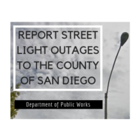 Report Street Light Outages